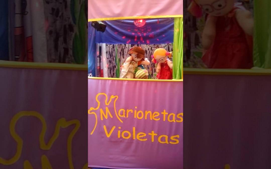 MARIONETAS VIOLETAS